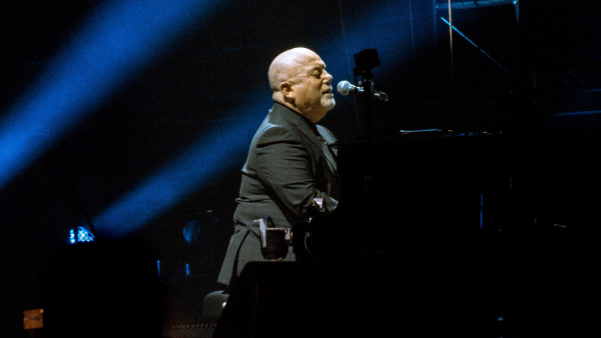 Billy Joel performing live at Kauffman Stadium in Kansas City on September 21, 2018  Photo © Jen Gray