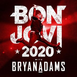 Bon Jovi 2020 w/ Bryan Adams coming to Enterprise Center July 23