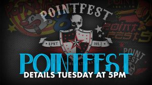Pointfest 2020: announced today at 5p
