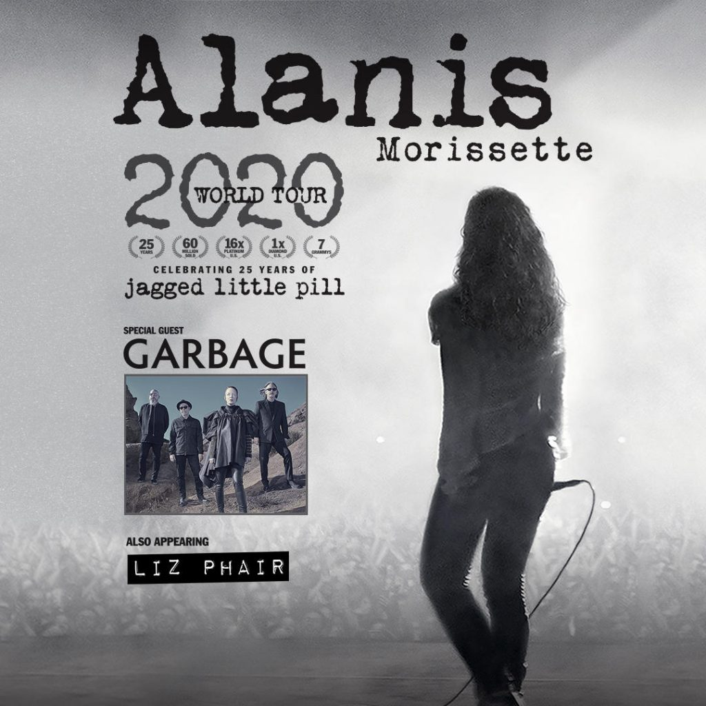ALANIS MORISSETTE AT HOLLYWOOD CASINO AMPHITHEATRE, JULY 18, 2020
