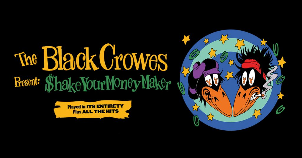 THE BLACK CROWES AT HOLLYWOOD CASINO AMPHITHEATRE, AUGUST 23, 2020